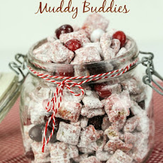 Red Velvet Muddy Buddies