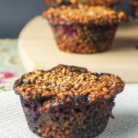 Steel Cut Oatmeal Muffins