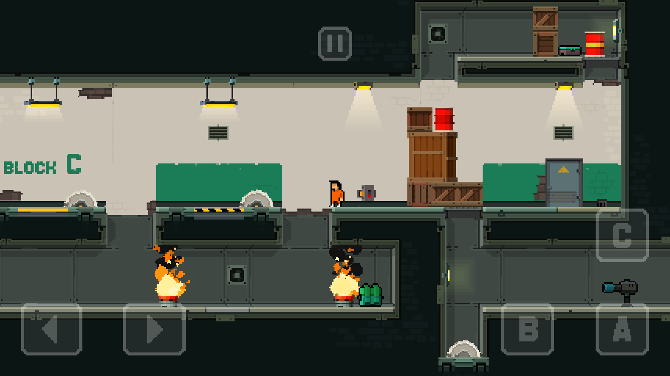 Prison Run and Gun Screenshot 1