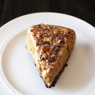 Mocha Brownie Ice Cream Pie