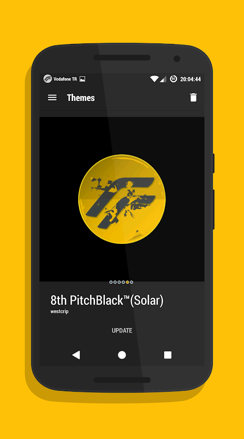 PitchBlack│Solar CM13/12 Screenshot 0