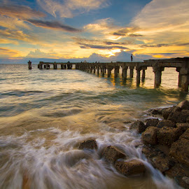 color twilight by Irfan Mrpunk - Landscapes Waterscapes ( landscape )