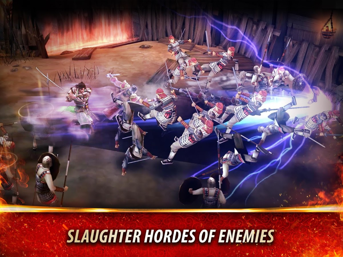 Dynasty Warriors: Unleashed Screenshot 3