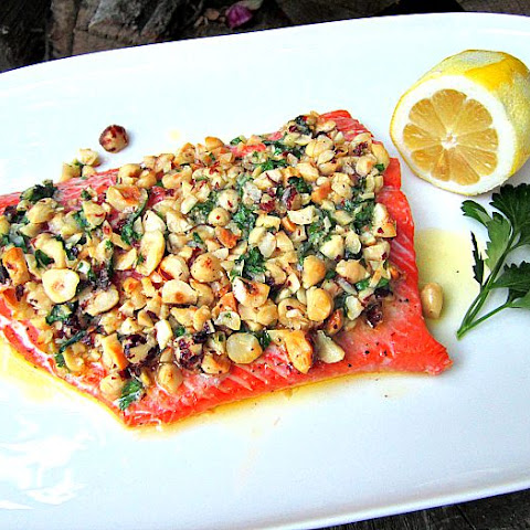 What's for Dinner? Wild Coho Salmon w/ Hazelnut Butter