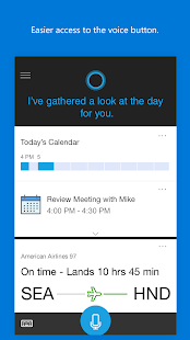 Cortana Screenshot