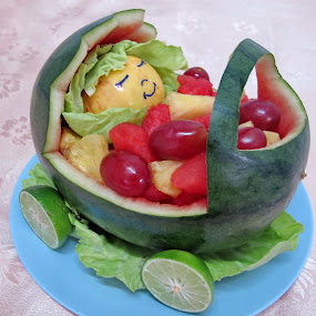 Baby buggy by Lolit Cabilis - Food & Drink Fruits & Vegetables ( fruits, food art )