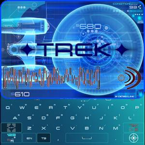 Cover art ✦ TREK ✦ Keyboard
