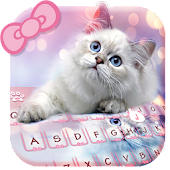 Free Download Lovely cat Keyboard APK for Samsung