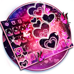 Sparkling Heart Keyboard Theme Icon
