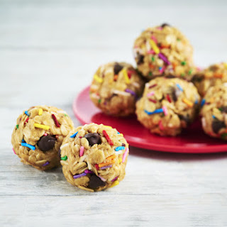 Peanut Butter Snack Bites with Sprinkles