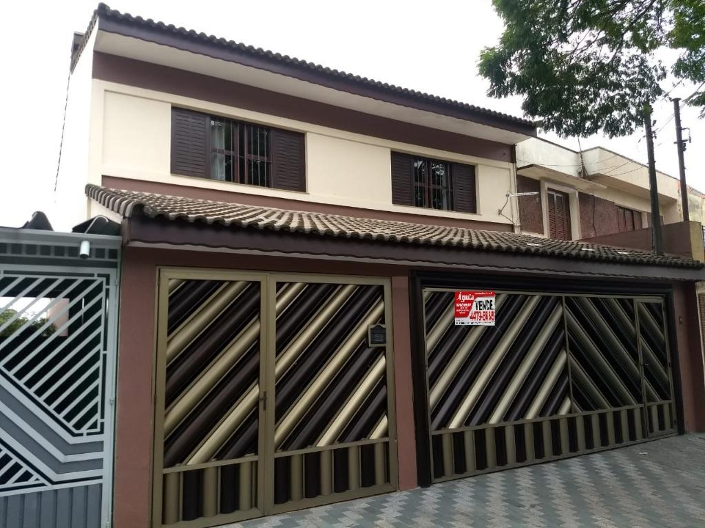 Sobrado com 3 dormitórios à venda, 241 m²- Vila Curuçá - San