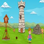 Little Boy's Monkey Cap Escape Icon