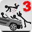 Stickman Dismount 3 Heroes