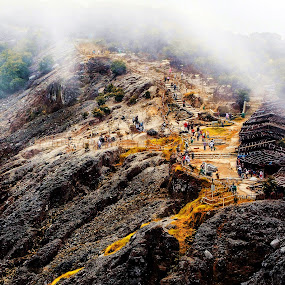 Tangkuban Parahu-INDONESIA by Maynard Caryabudi - Landscapes Mountains & Hills