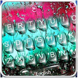 Color Water Drops Keyboard Theme For PC / Windows 7/8/10 / Mac – Free Download