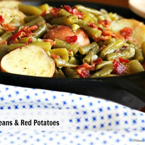 Homestyle Green Beans And Red Potatoes