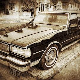 Drove My Chevi to.......... by Anthony P Morris - Transportation Automobiles ( car, chevrolet, automobile, oxford, anthonypmorris, farmoor, usa, chevi )