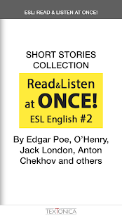 ENGLISH ESL SHORT STORIES - screenshot
