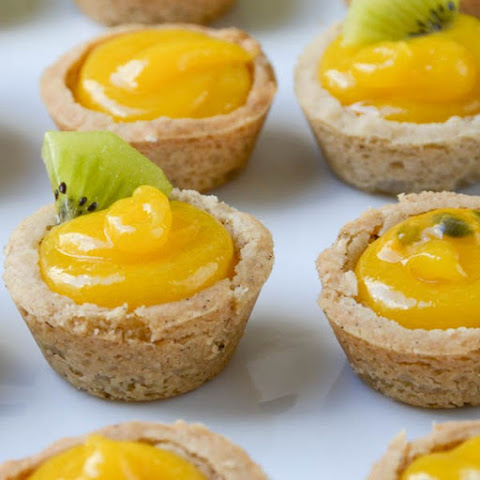 Tropical Passion Fruit Tartlets