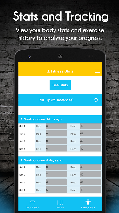 Updown Fitness Workout Trainer Screenshot 6