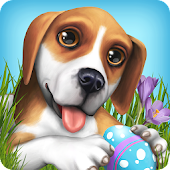Easter with DogWorld Icon