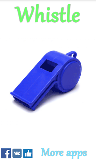 Whistle For PC