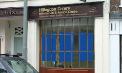 Hillingdon Carers Advice Centre, on the High Street in Uxbridge, carries a wide range of information relating to carers.