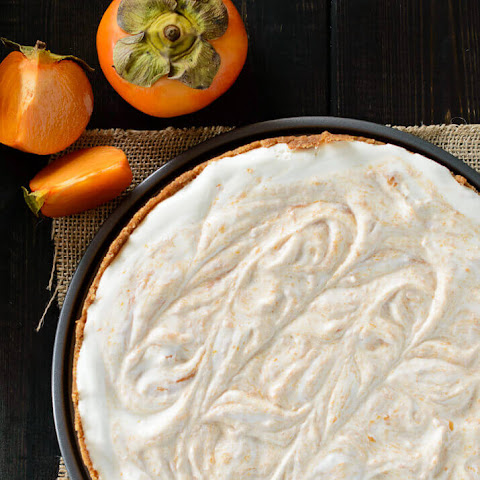 Honey Yogurt Persimmon Tart