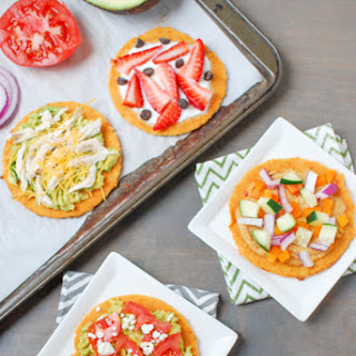 Almond Sweet Potato Flatbreads