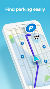 Waze - GPS, Maps & Traffic APK screenshot thumbnail 4
