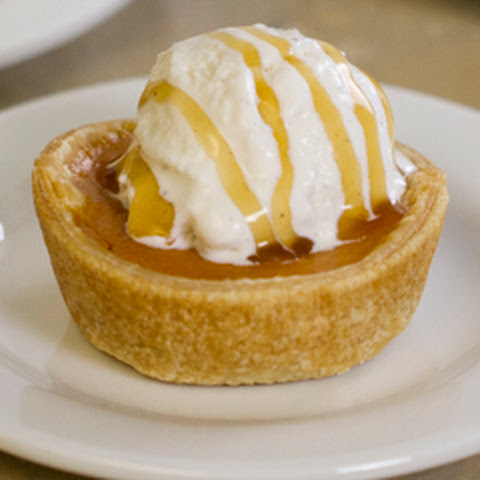 Pumpkin Pie Ice Cream Bowls
