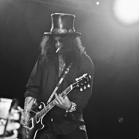 Slash! by Charles Liban Jr - People Musicians & Entertainers