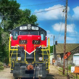 by Andrew Lawlor - Transportation Trains