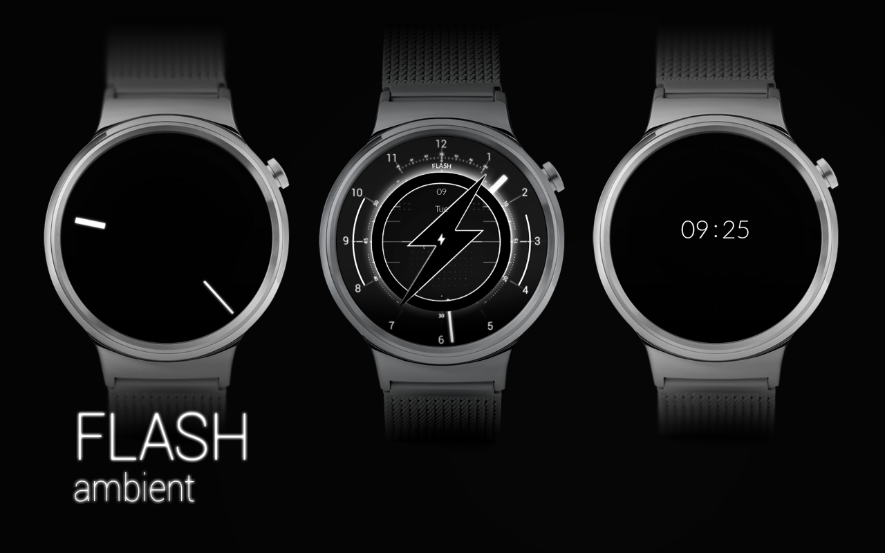 FLASH - Watch Face Screenshot 5