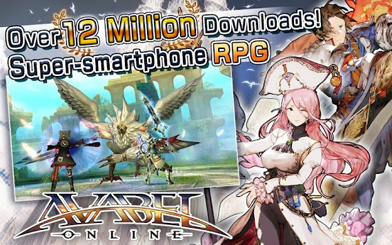 Online RPG AVABEL [Action] APK screenshot thumbnail 2
