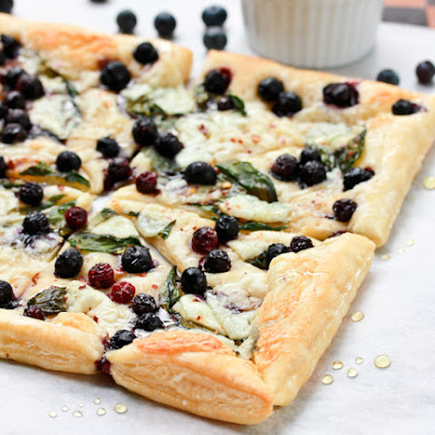 Sargento Natural Cheese and Blueberry Pizza
