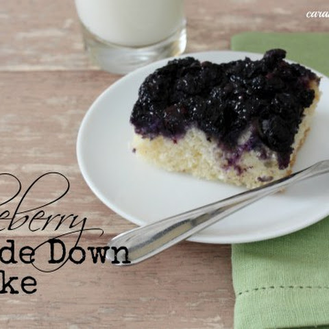 Blueberry Upside Down Cake