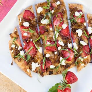 Balsamic Strawberries Goat Cheese Recipes