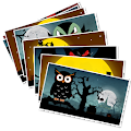 Download Halloween greetings cards APK for Android Kitkat