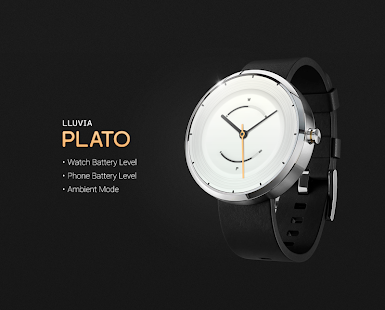 Plato watchface by Lluvia - screenshot