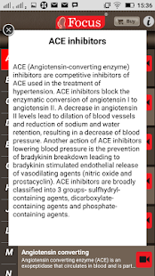 Hypertension - Medical Dict. - screenshot