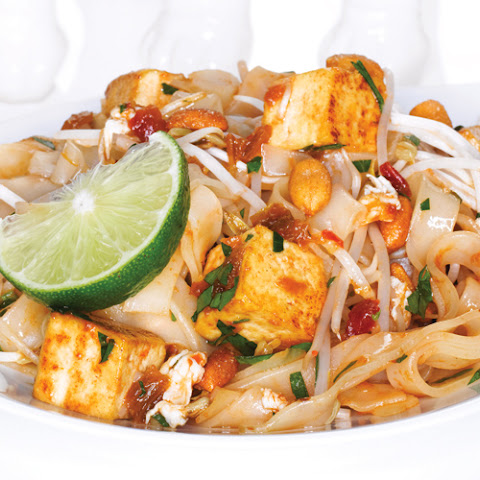 Saucy Tofu Pad Thai