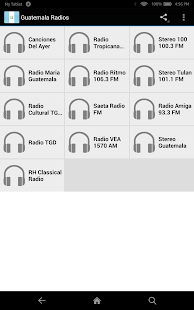 Radios  Guatemala - screenshot
