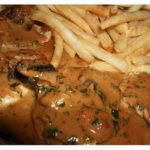 Chicken Breast With Supreme Sauce
