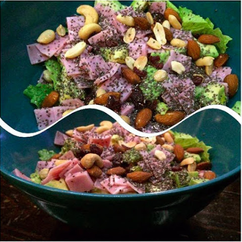 Avocado, Ham and Chia Seed Salad
