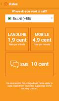 Screenshot of GlooboVoIP: Cheap Calls