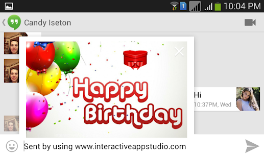 Birthday Greeting Cards Free- screenshot