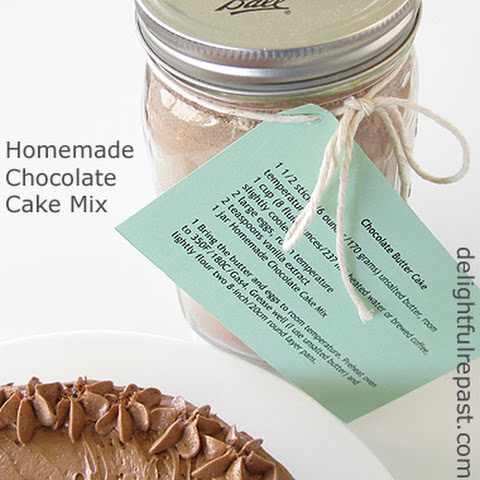 Homemade Cake Mix - Chocolate Butter Cake