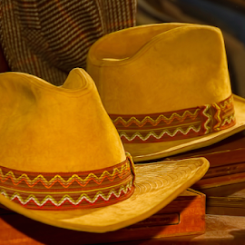 0345-Reflection of a Hat! by Fred Herring - Artistic Objects Clothing & Accessories