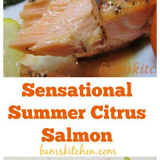 Sensational Summer Citrus Salmon